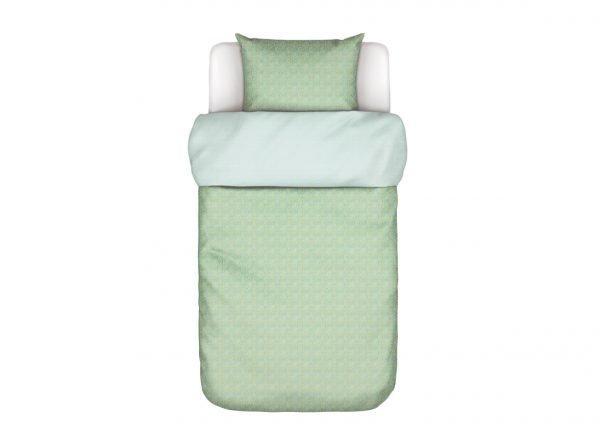 Marc O'Polo dekbedovertrek Flori soft green
