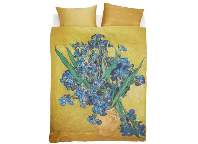 Beddinghouse x Van Gogh Museum dekbedovertrek Irises yellow