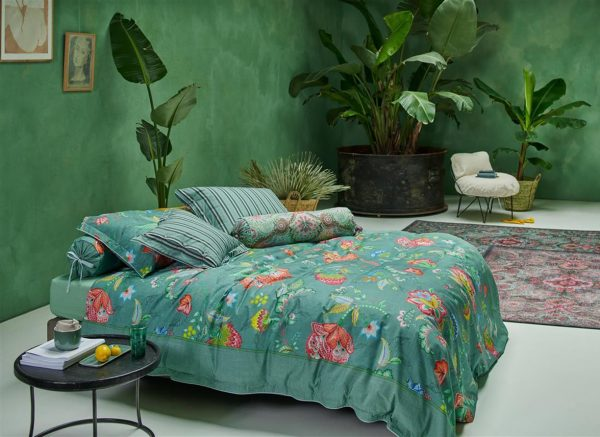 Pip Studio dekbedovertrek Jambo Flower green