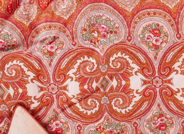 Oilily dekbedovertrek Paisley pink