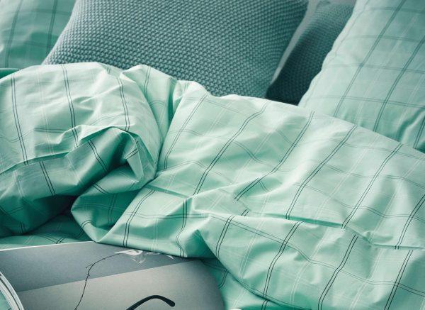 Marc O'Polo dekbedovertrek Tolva soft green
