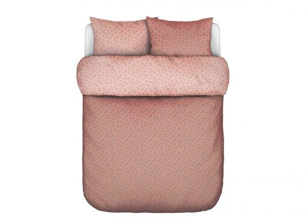Marc O'Polo dekbedovertrek Verin coral pink