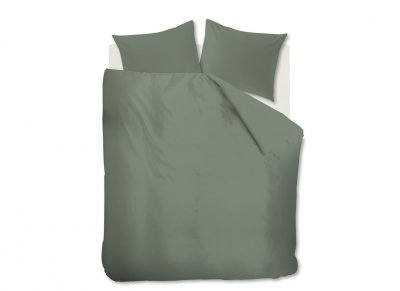 Beddinghouse dekbedovertrek Basic green