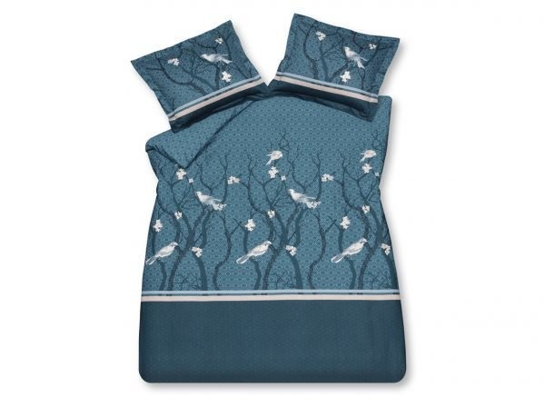 Vandyck dekbedovertrek Small Birds blue