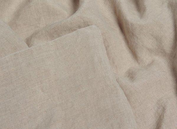 Yumeko dekbedovertrek washed linen natural