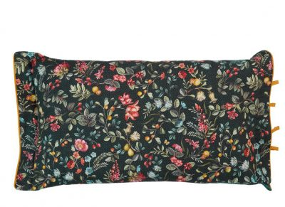 Pip Studio sierkussen Midnight Garden green 35x60