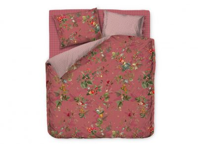 Pip Studio dekbedovertrek Fall in Leaf pink