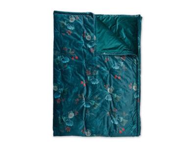 Pip Studio sprei Leafy Stitch velvet blue