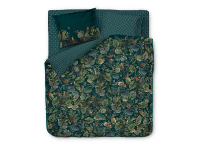 Pip Studio dekbedovertrek Winter Foliage green