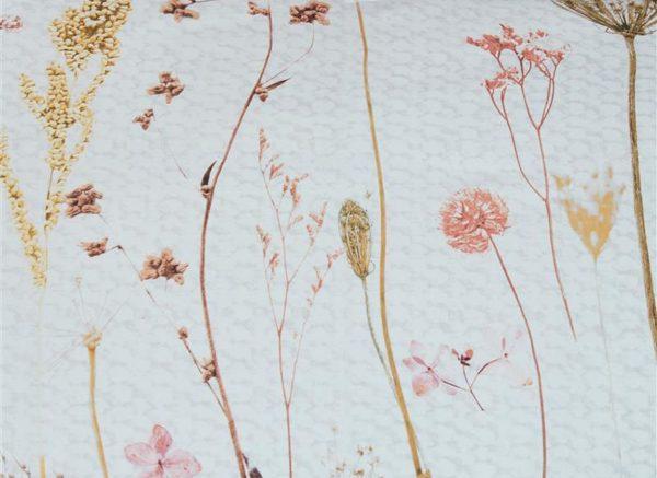 Ariadne at Home dekbedovertrek Flower Blush natural