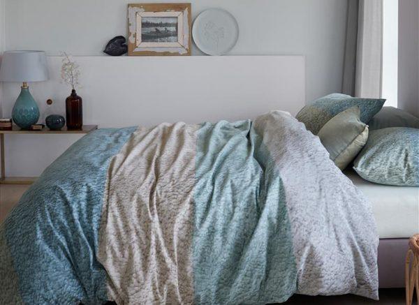 Ariadne at Home dekbedovertrek Softie bluegreen