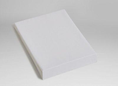 Yumeko hoeslaken katoen Tencel pure white