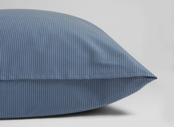 Yumeko dekbedovertrek katoen Tencel blue stripe