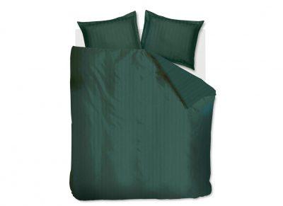 Beddinghouse dekbedovertrek Shine dark green