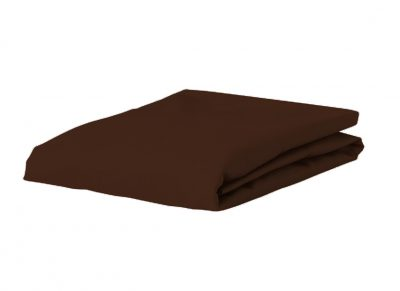 Essenza Home perkal hoeslaken, chocolate