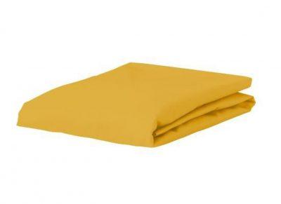 Essenza Home perkal hoeslaken, mustard