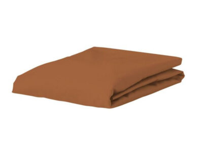 Essenza Home perkal hoeslaken, leather brown