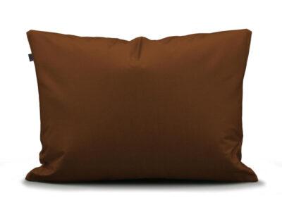 Essenza Home kussensloop perkal katoen, leather brown