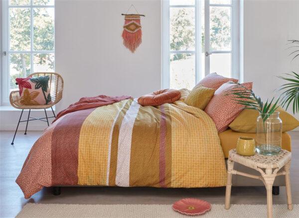 Beddinghouse dekbedovertrek Berith geel