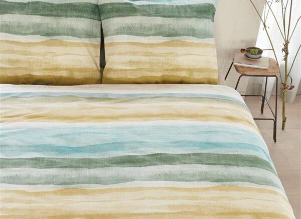 Ariadne at Home dekbedovertrek Colour Palette  blauw groen