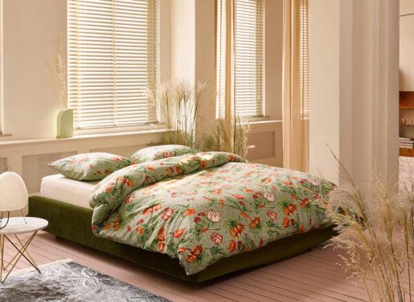 Essenza Home dekbedovertrek  Femm rosemary green