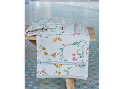 PIP Studio badgoed Les Fleurs wit