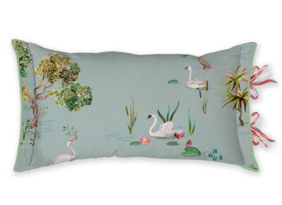 Pip Studio sierkussen Little Swan grey 35×60