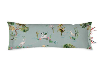 Pip Studio sierkussen Little Swan grey 30×90