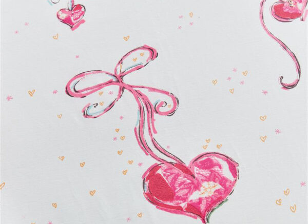 Beddinghouse Kids dekbedovertrek Love it roze
