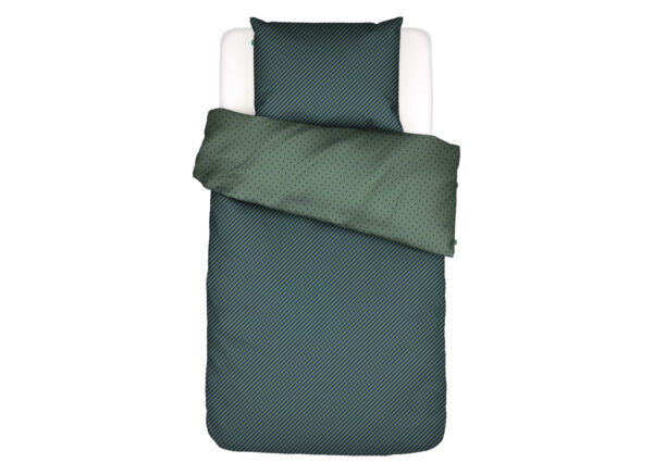 Covers&Co dekbedovertrek  No Stripes No Glory green