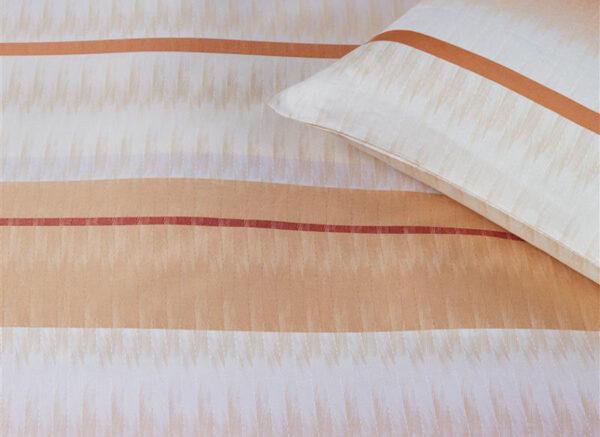 Kardol dekbedovertrek Palenque steenrood
