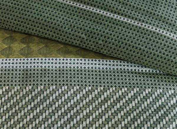 Beddinghouse dekbedovertrek Webbing grijsgroen