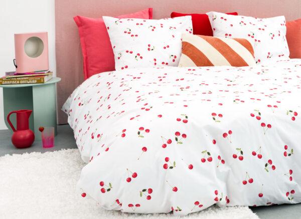 Snurk dekbedovertrek Cherries