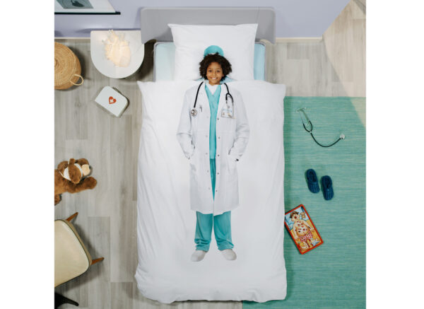 Snurk dekbedovertrek Doctor