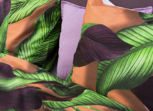 Snurk dekbedovertrek Fresh Leaves