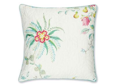Pip Studio sierkussen Fleur Grandeur quilted white 45×45