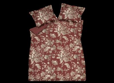 Vandyck dekbedovertrek Bloom Art cabernet