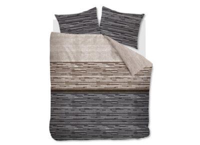 Beddinghouse dekbedovertrek Fardau grey