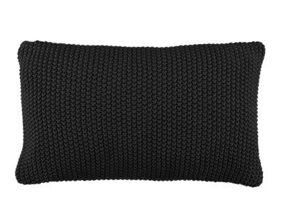 Marc 'O Polo sierkussen Nordic knit black 30x60