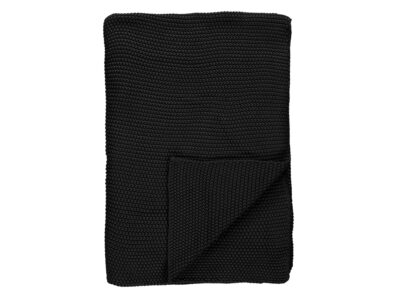 Marc 'O Polo plaid Nordic knit black